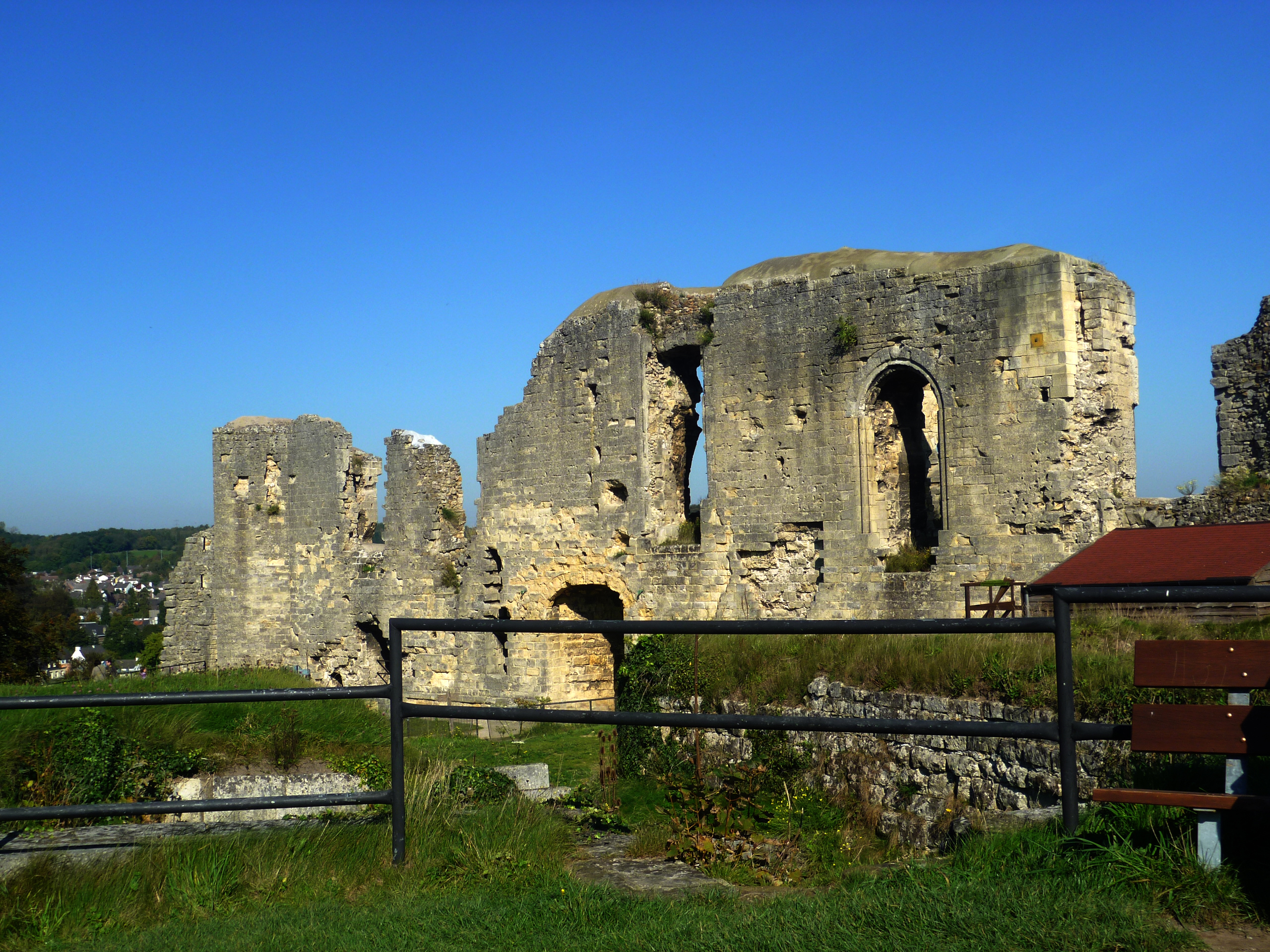cauburg castle ruin Valkenburg