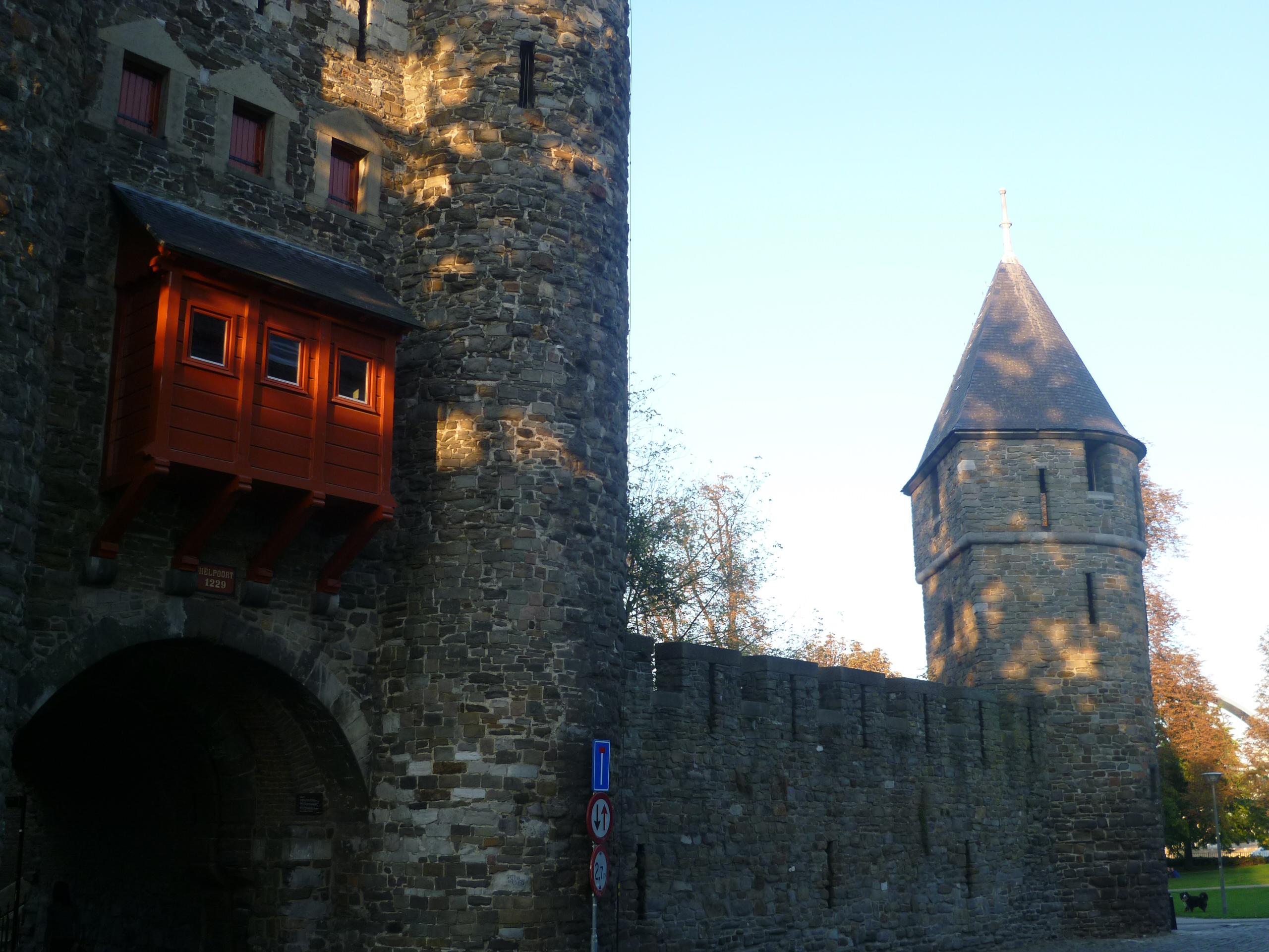 Hellpoort city gate in Maastricht