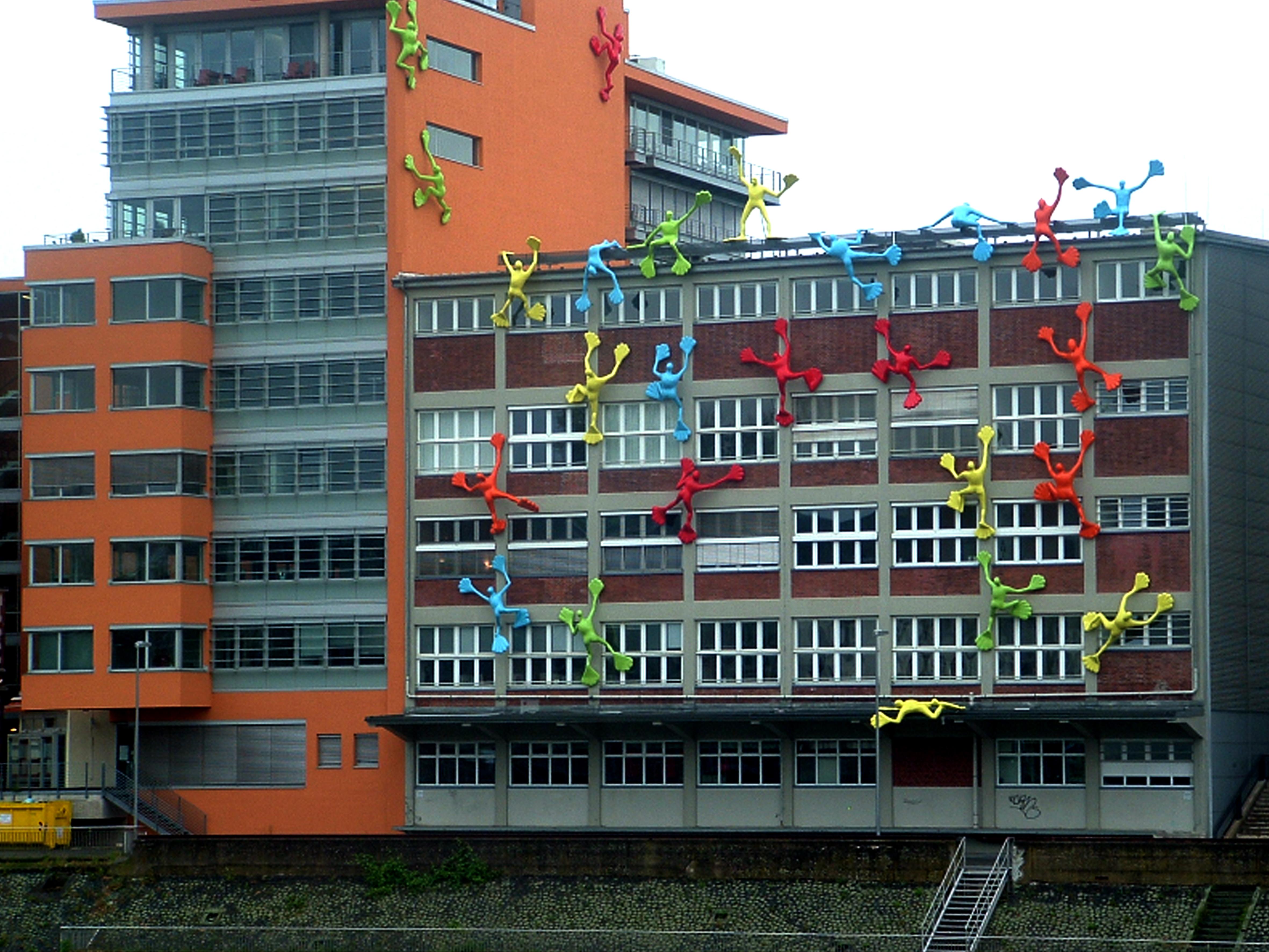 Düsseldorf - Medienhafen architecture