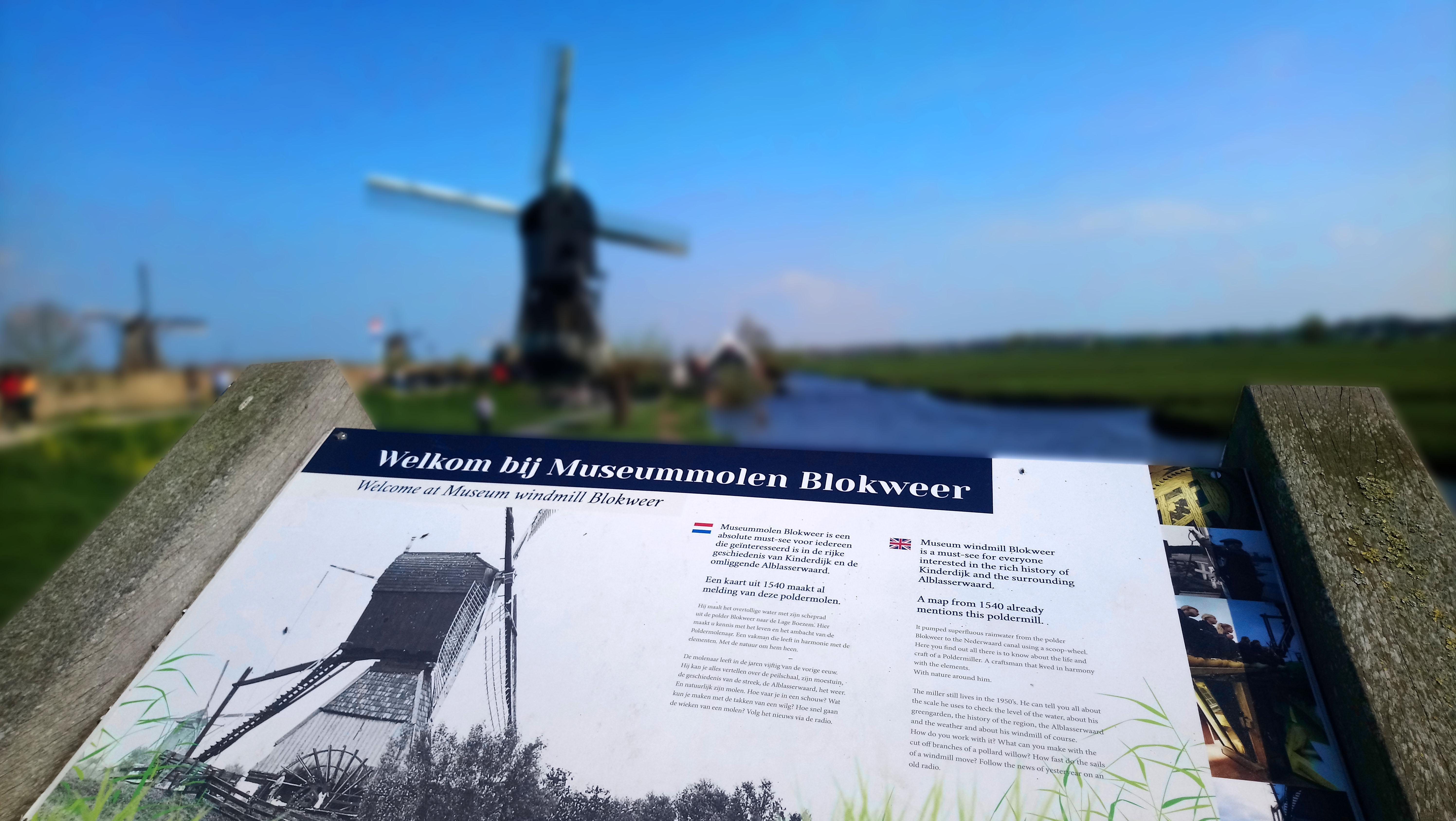 Blokweer Museum Kinderdijk