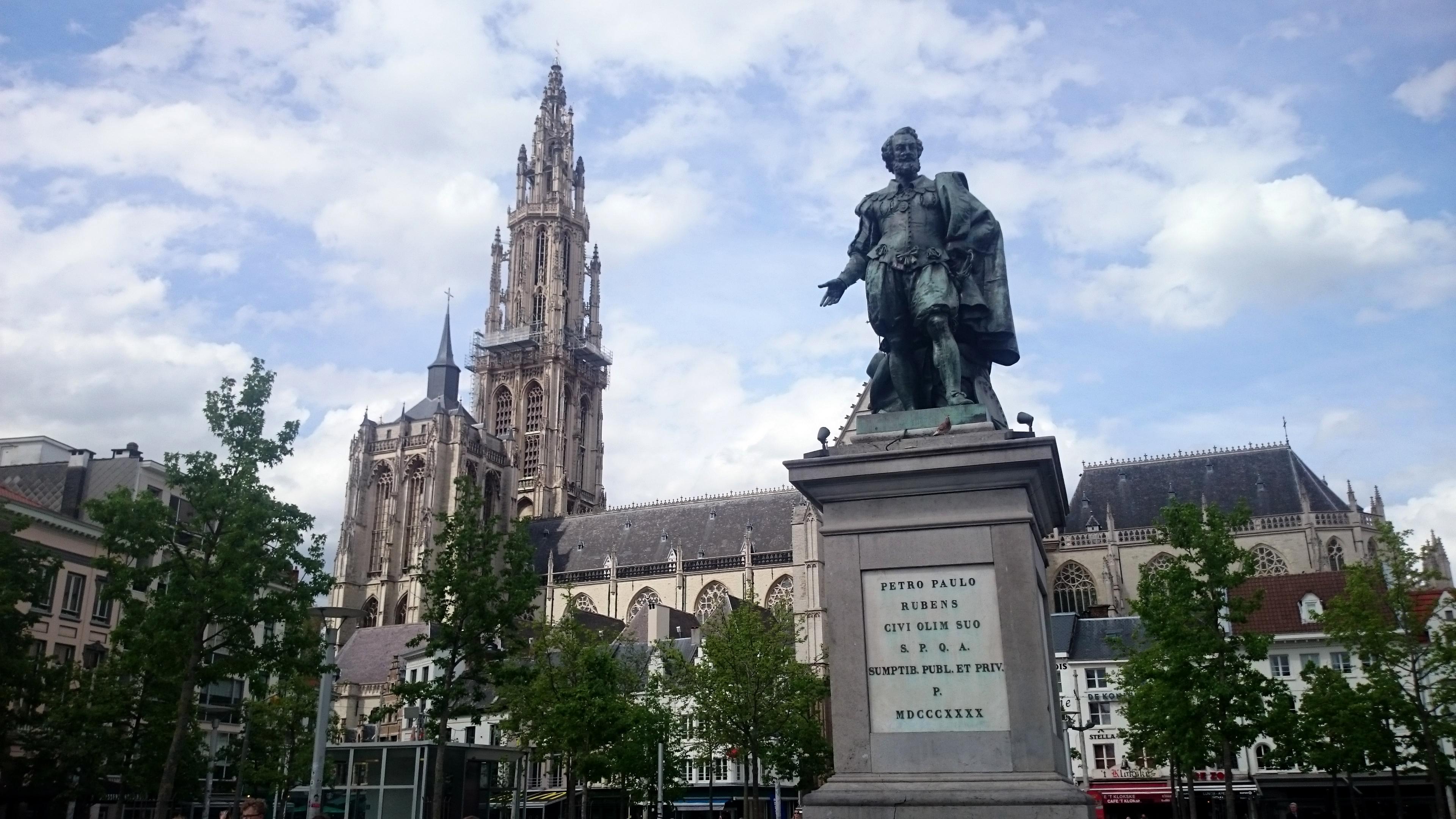 Antwerp - Petro Paulo Rubens Statue