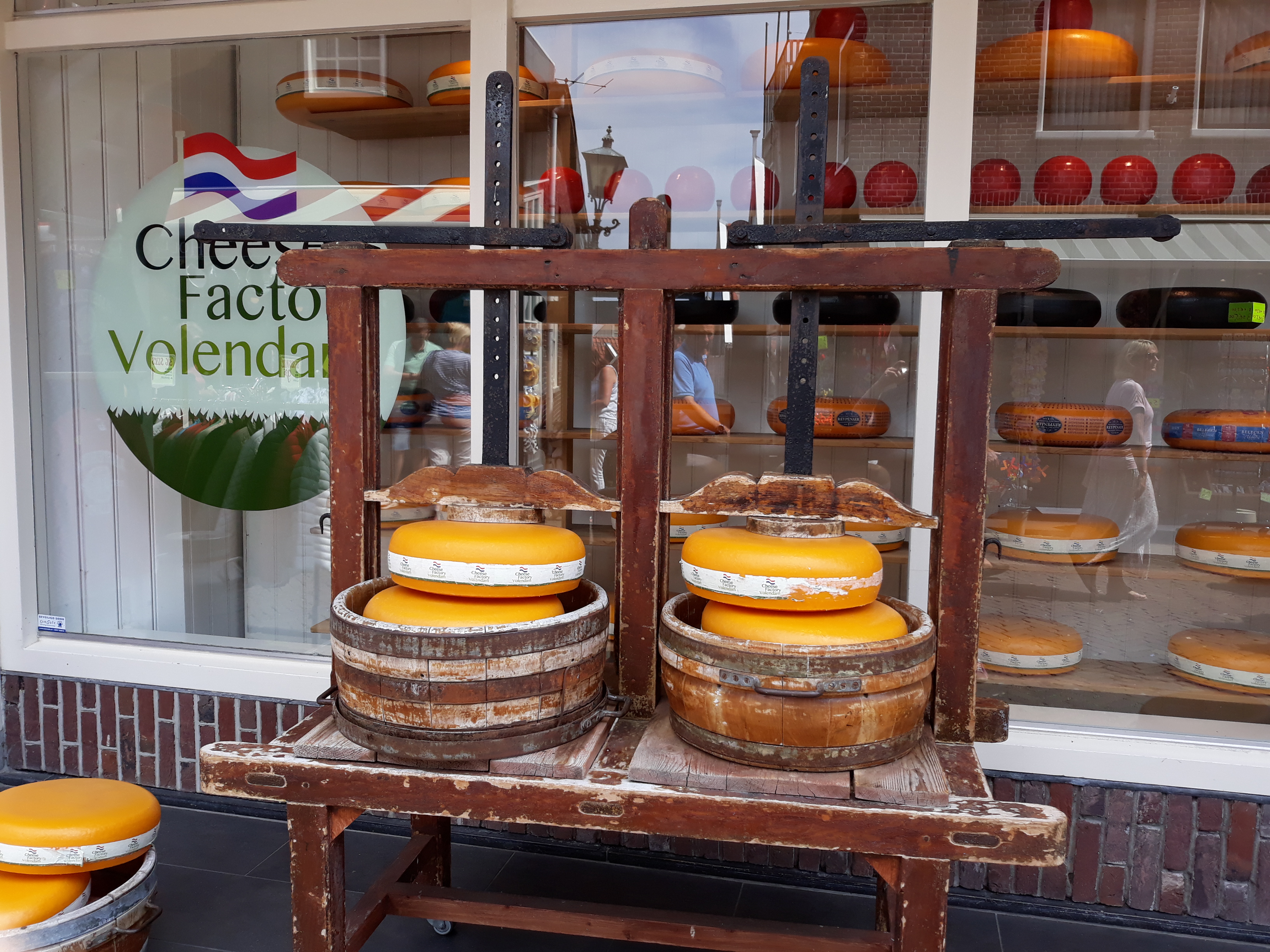 Cheese in Volendam