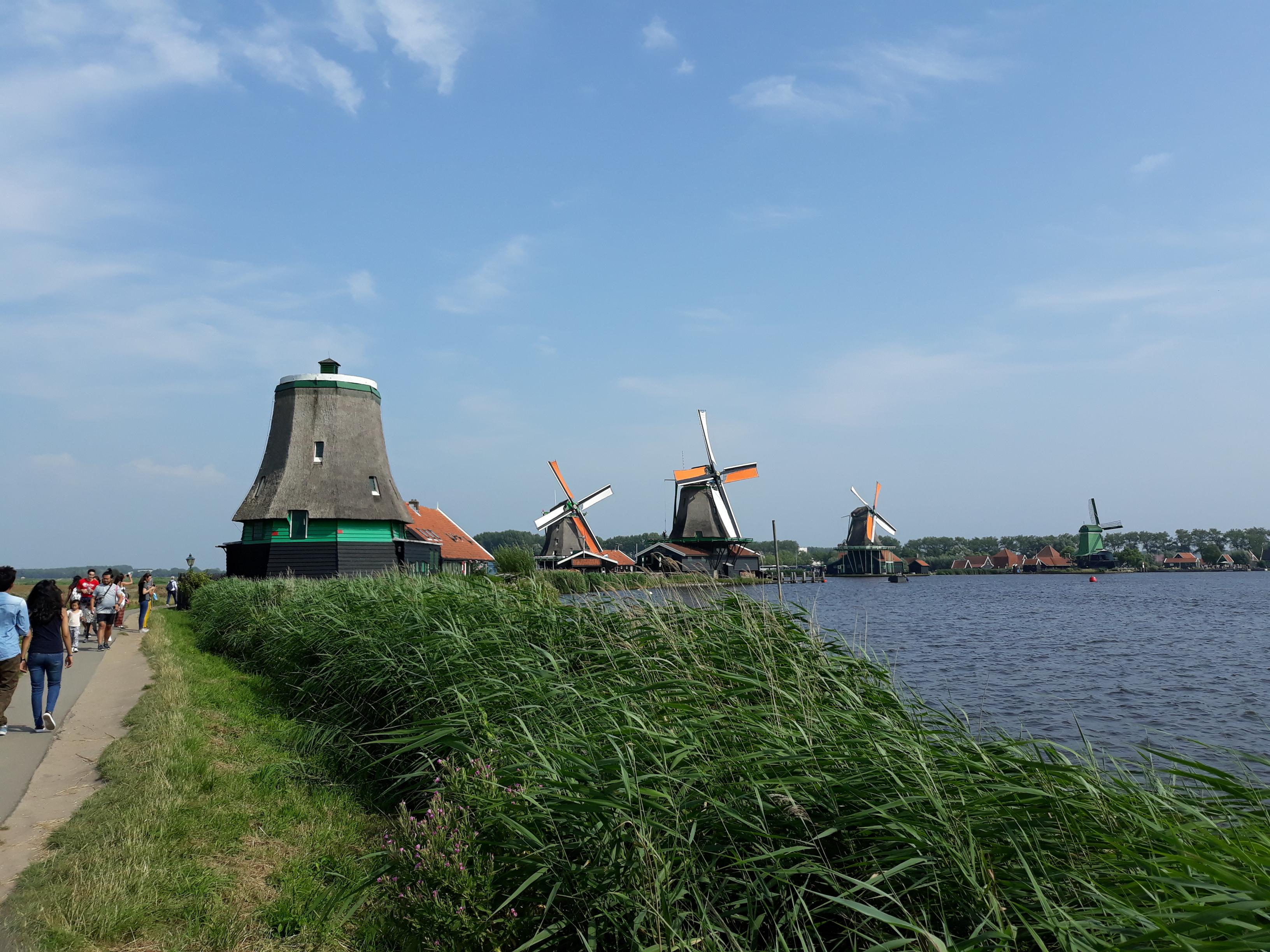 Windmill De Os Zaanse Schans