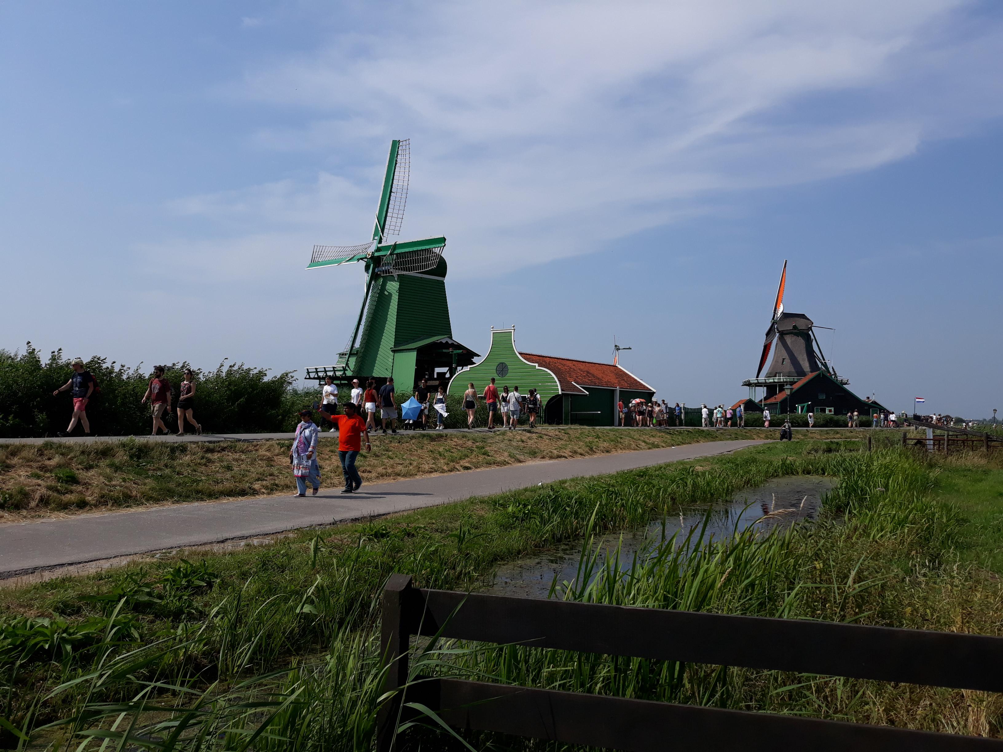 Windmills Zaanse Schans
